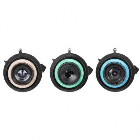 Lomography Experimental Lens Kit - set 3 obiective pentru Micro 4/3