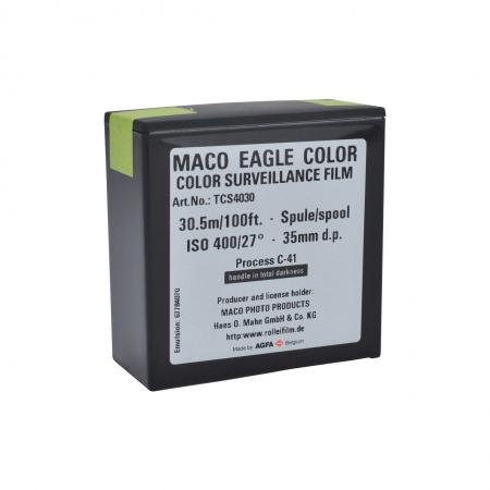 MACO TCS Eagle Rola negativ 35mm x 30.5m, ISO 400, Color