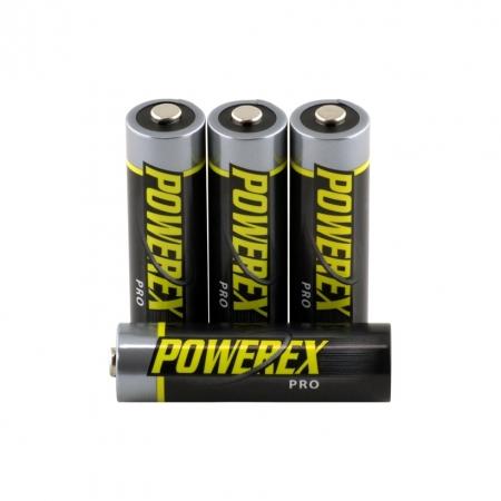 Maha Powerex PRO Set 4 Acumulatori R6 2700mAh MHRAA4PRO BULK125033963