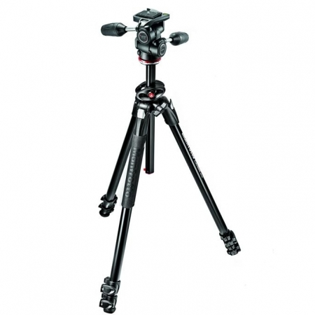 Manfrotto MK290DUA3-3W trepied foto cu cap 3-way