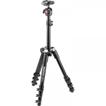 Manfrotto MKBFR1A4B-BH Befree One - kit trepied foto negru