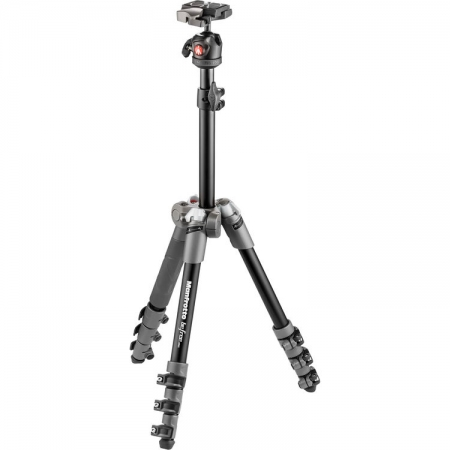 Manfrotto MKBFR1A4D-BH Befree One - kit trepied foto grey