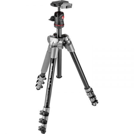Manfrotto MKBFRA4D-BH Befree - kit trepied foto gri