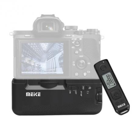 MeiKe Grip pentru Sony A7II/ A7RII cu telecomanda