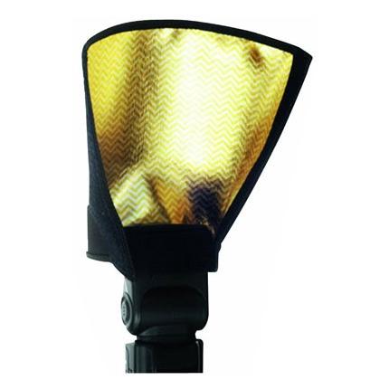 Metz 30-26 Snoot Bounce Diffuser auriu - snoot blit extern universal