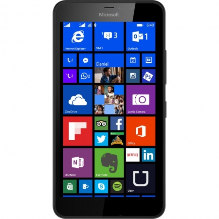 Microsoft Lumia 640 XL Dual SIM (Windows 8.1. Phone) - 3G Black - RS125018855