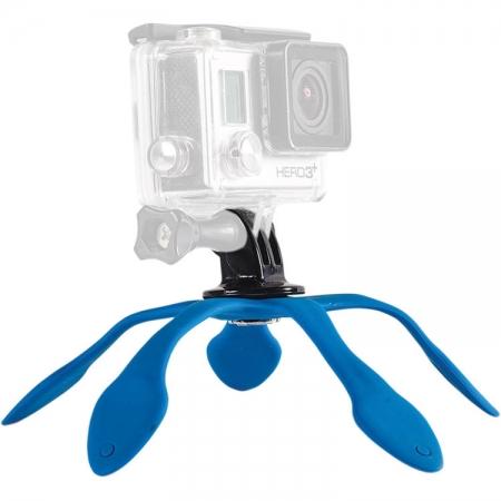 Miggo Splat GoPro - Trepied flexibil, Albastru