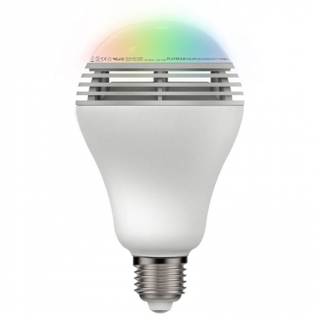 Mipow Led Playbulb Colour - Bec Bluetooth cu Difuzor -  Alb