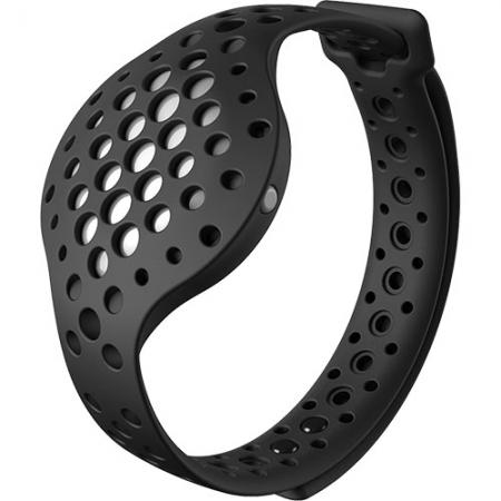 Moov - Bratara Fitness, Omni Motion Sensor, Waterproof, Negru/ Alb