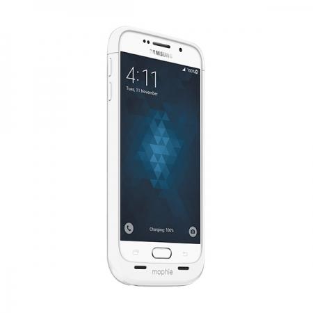 Mophie Juice Pack Samsung Galaxy S6 - Husa cu acumulator 3300mAh - alb
