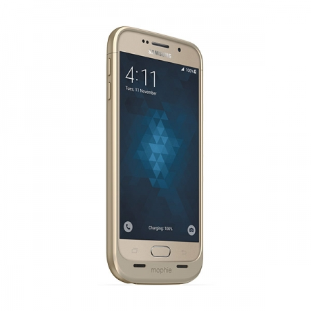 Mophie Juice Pack Samsung Galaxy S6 - Husa cu acumulator 3300mAh - auriu