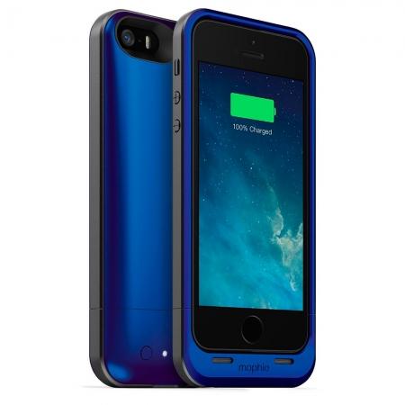 Mophie iPhone 5s / 5 juice pack air - Husa cu acumulator 1700mAh - albastru