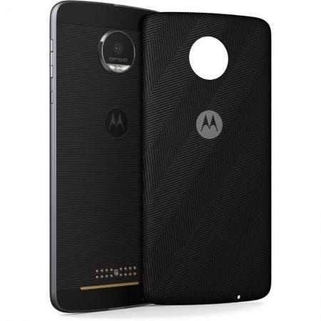 Motorola Moto Z Cover Style Cap - Capact de protectie spate pentru Moto Z - Negru
