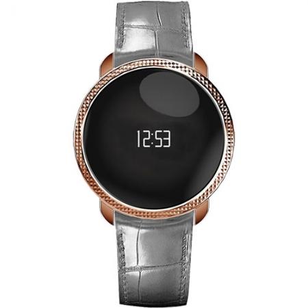 MyKronoz ZeCircle Premium Embossed - Smartwatch, Gri