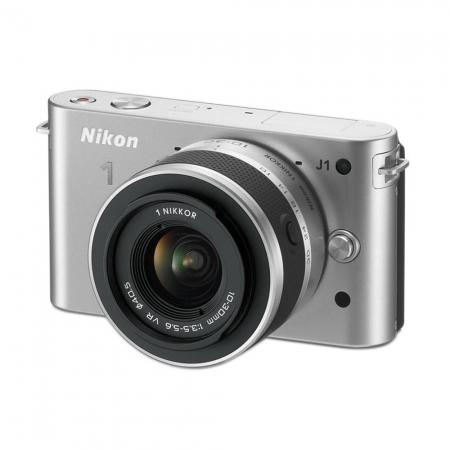 Nikon 1 J1 KIT 1 VR 10-30mm f/3.5-5.6 Silver - RS1043856-1