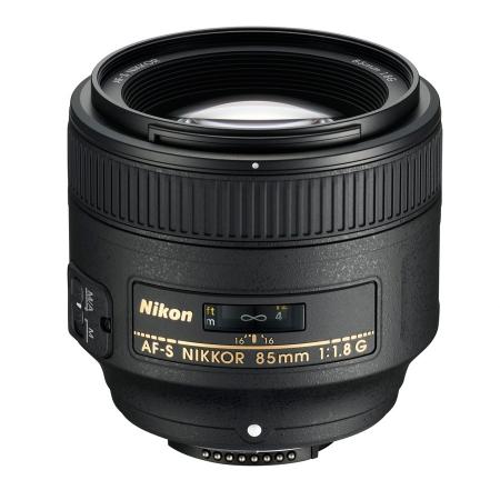 Nikon 85mm f1.8 AF-S FX G RS1046355-3