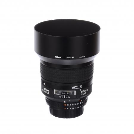 Nikon AF NIKKOR 85mm f/1.4D IF SH125031083