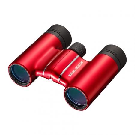 Nikon Aculon T01 10x21 - binoclu rosu