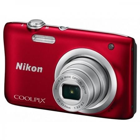 Nikon Coolpix A100 - Rosu