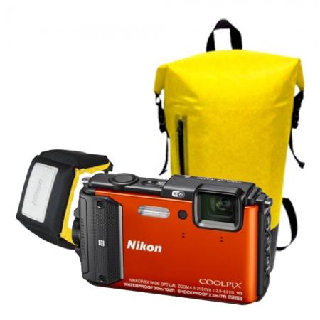 Nikon Coolpix AW130 Diving Kit orange