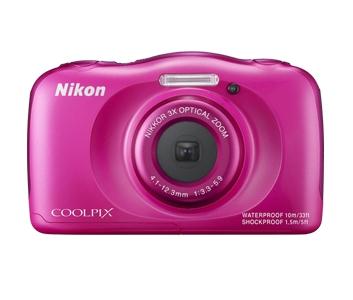 Nikon Coolpix S33 - roz