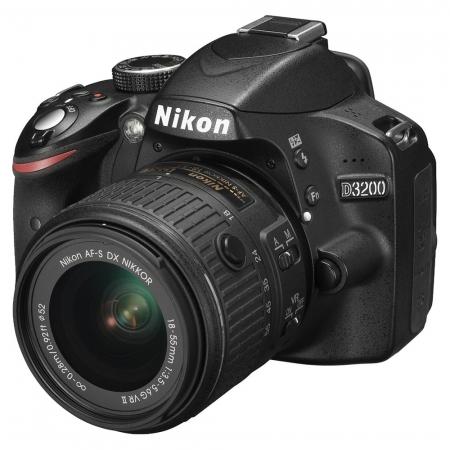 Nikon D3200 kit 18-55mm VR II AF-s DX