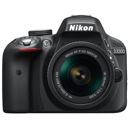 Nikon D3300 Kit AF-P 18-55mm Negru Fara VR RS125031006