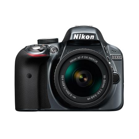 Nikon D3300 Kit AF-P 18-55mm VR Gri RS125034129-1
