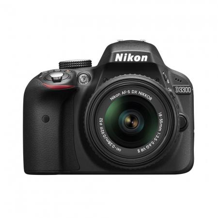 Nikon D3300 kit 18-55mm VR II AF-s DX