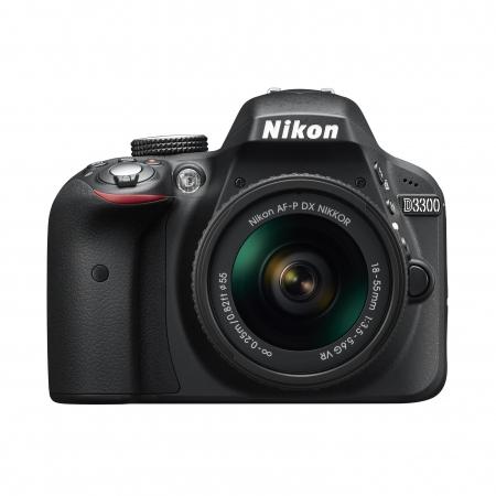 Nikon D3300 kit AF-P 18-55mm VR negru