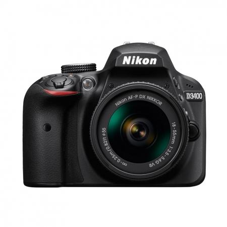 Nikon D3400 Kit AF-P 18-55mm VR negru RS125029566-2