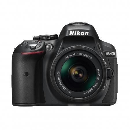 Nikon D5300 Kit AF-P 18-55mm VR  Negru - RS125026088-1