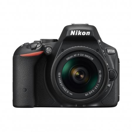 Nikon D5500 Kit AF-P 18-55mm VR Negru