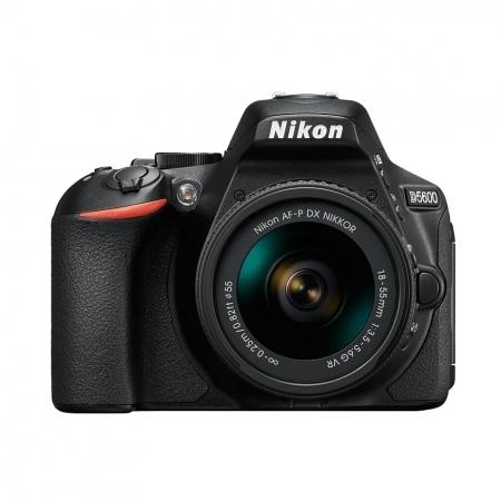 Nikon D5600 Kit AF-P 18-55mm VR  Negru RS125031678
