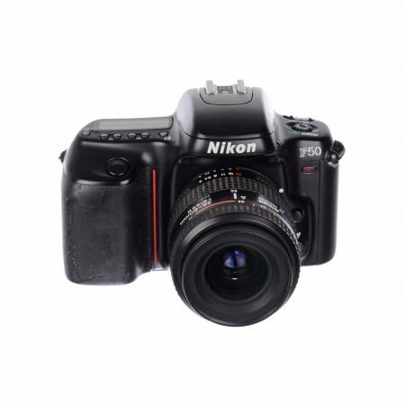 Nikon F50 + Nikon 35-80mm f/4-5.6D ( aparat foto pe film ) SH125031017