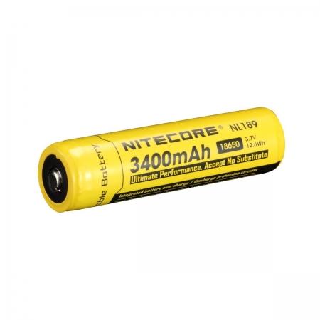 Nitecore NL 1834R - Acumulator 18650 Li-Ion 3400 mAh cu PCB