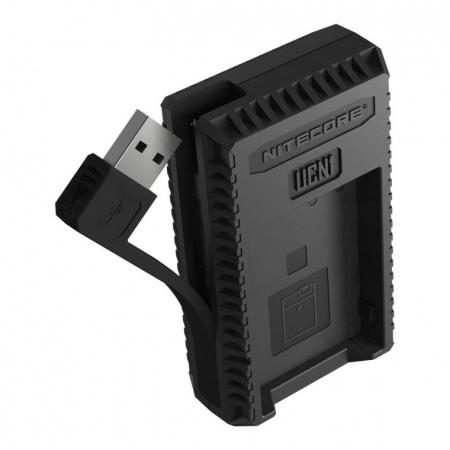Nitecore UCN1 - Incarcator USB pentru acumulatori Canon