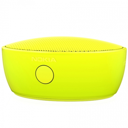 Nokia Mini Speaker - Boxa portabila, Bluetooth, NFC, Galben
