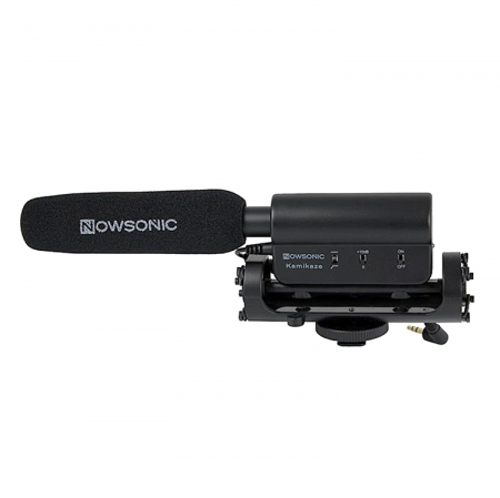 Nowsonic Kamikaze - microfon extern jack 3.5 Dslr - RS125007901-1