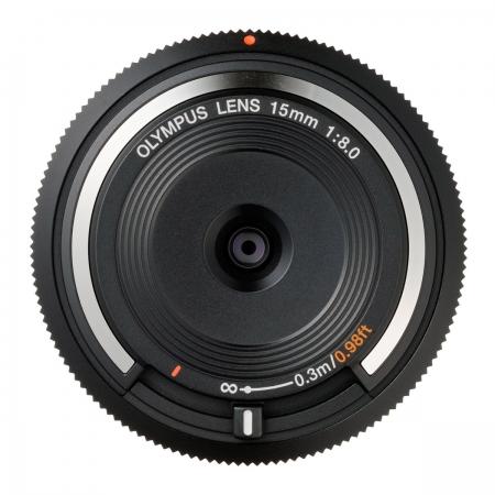 Olympus Body Cap Lens 15mm f8.0 negru - RS125002908