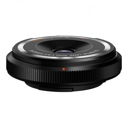 Olympus Body Cap Lens 9mm f/8.0 negru