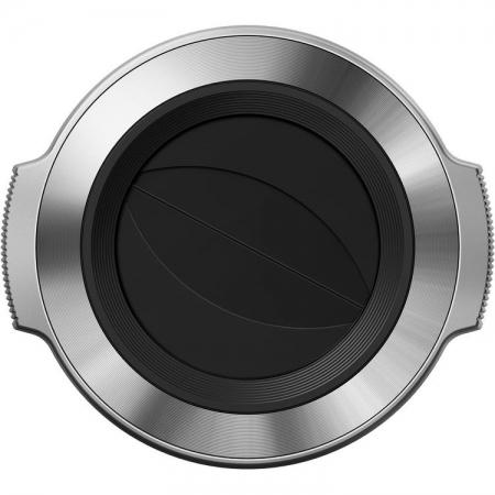 Olympus LC-37C - capac obiectiv pentru M.Zuiko Digital ED 14-42mm f/3.5-5.6 EZ, Argintiu