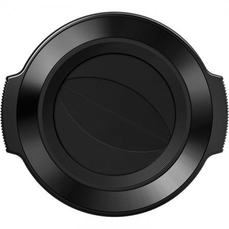 Olympus LC-37C - capac obiectiv pentru M.Zuiko Digital ED 14-42mm f/3.5-5.6 EZ, Negru