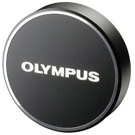Olympus LC-48B - capac obiectiv pentru M.Zuiko Digital 17mm 1:1.8, negru