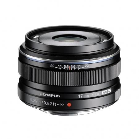 Olympus M.ZUIKO DIGITAL 17mm f/1.8 EW-M1718 negru