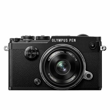 Olympus PEN-F 17mm f/1.8 Kit blk/blk