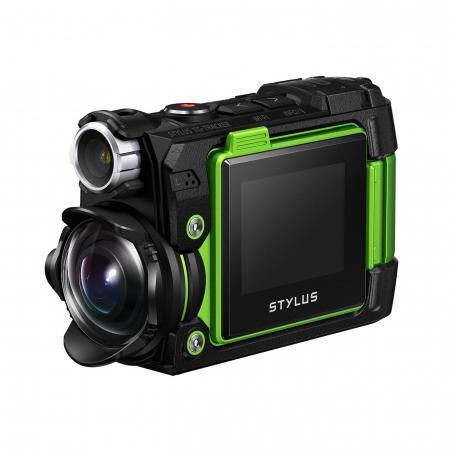 Olympus TG-Tracker verde filmare 4k stabilizare 5 axe