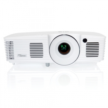 Optoma W350 - Videoproiector WXGA, 3600 lumeni, 18.000:1, HDMI, VGA, retea RJ45, 8000 ore, geanta de transport, Full 3D