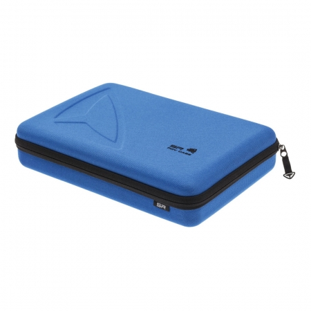 POV Case GoPro Large - geanta protectie si transport camere HERO albastru
