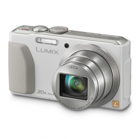 Panasonic Aparat foto DMC-TZ40W Alb 18Mpix Zoom 20X Wide 24mm RS125003831